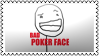 Bad pokerface by black-cat16-stamps