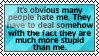 stupid people always had a problem by black-cat16-stamps