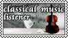 Classical music listener by black-cat16-stamps