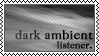 Dark ambient music listener by black-cat16-stamps