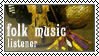 Folk music listener by black-cat16-stamps