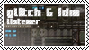 Glitch and idm listener by black-cat16-stamps