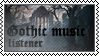 Gothic music listener by black-cat16-stamps