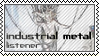Industrial metal listener by black-cat16-stamps