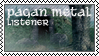 Pagan metal listener by black-cat16-stamps