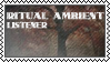 Ritual ambient listener by black-cat16-stamps