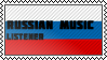 Russian music listener by black-cat16-stamps