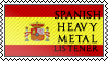 Spanish heavy metal listener by black-cat16-stamps