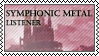 Symphonic metal listener by black-cat16-stamps