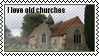Old churches by black-cat16-stamps