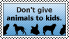 Animals and kids by black-cat16-stamps