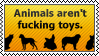Not toys by black-cat16-stamps