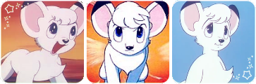 Kimba the white lion divider 1 by BEEPUDDING