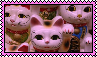 Lucky cat stamp 002 by BEEPUDDING
