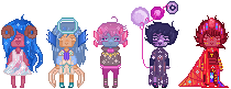 + [Pixels] Galaxy Squad #3 + by SignIess