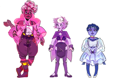 + [Lineup Commission] Rhon, Dumor Q and Lep + by CosmlcPunk