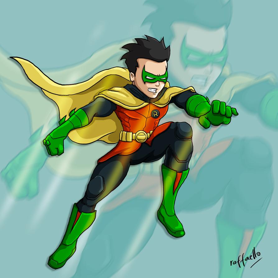 Damian Wayne by 07raffaello
