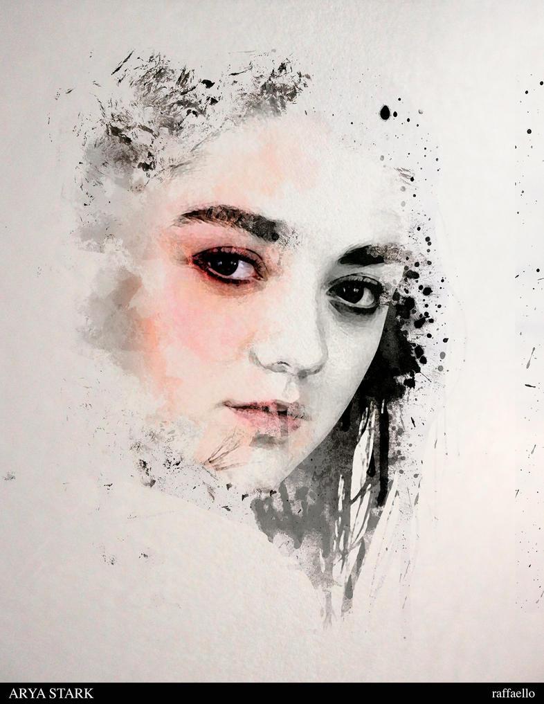 Arya Stark by 07raffaello