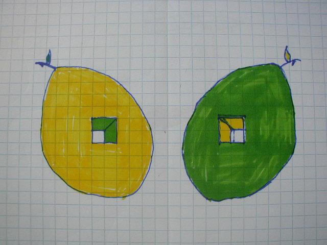 Lemon Lime Drawing by Vlue