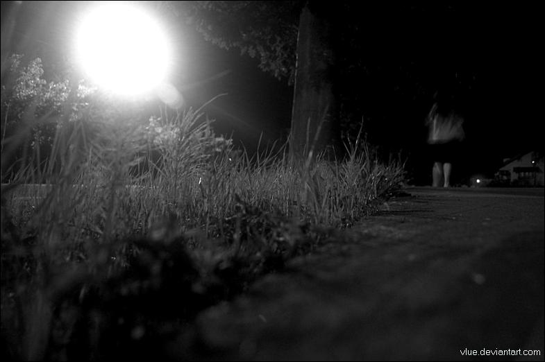 A Long Walk Home At Midnight by Vlue