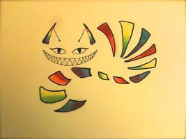 Rainbow Cheshire Tattoo