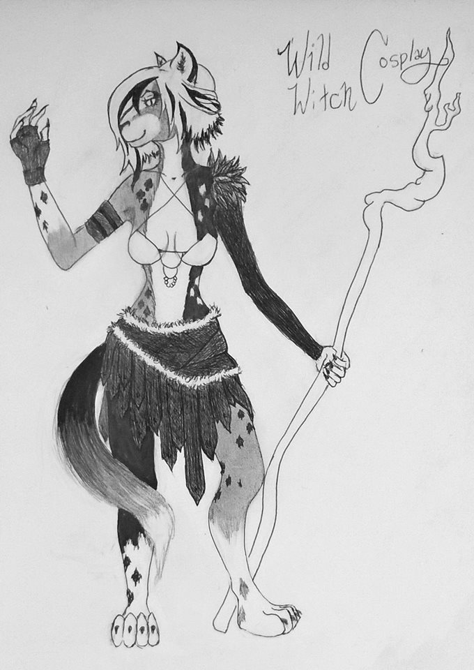 Isa's A Wild Witch by Morbid-Perhaps
