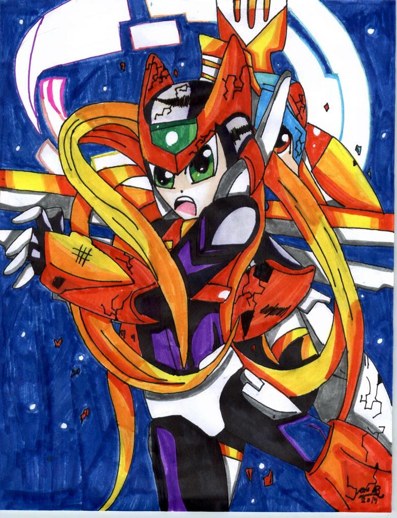 Megaman ZX zero vs  copy X by xXevilchibiXxMegaman Zero Copy X