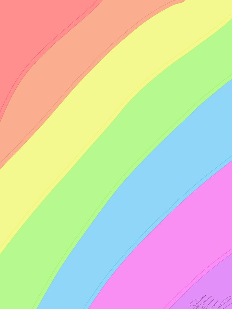 Pastell rainbow by ScarfManiac