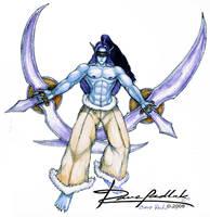Warcraft's Demonhunter by ozziecobblepot