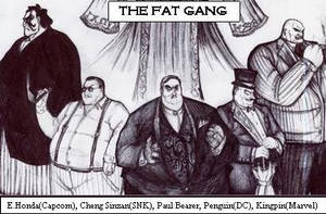 The Fat Gang by ozziecobblepot