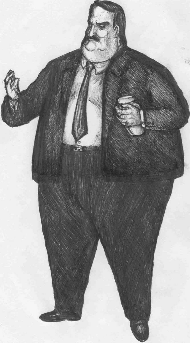 Paul Bearer by ozziecobblepot