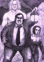 Bearer's search for Taker's Spirit by ozziecobblepot