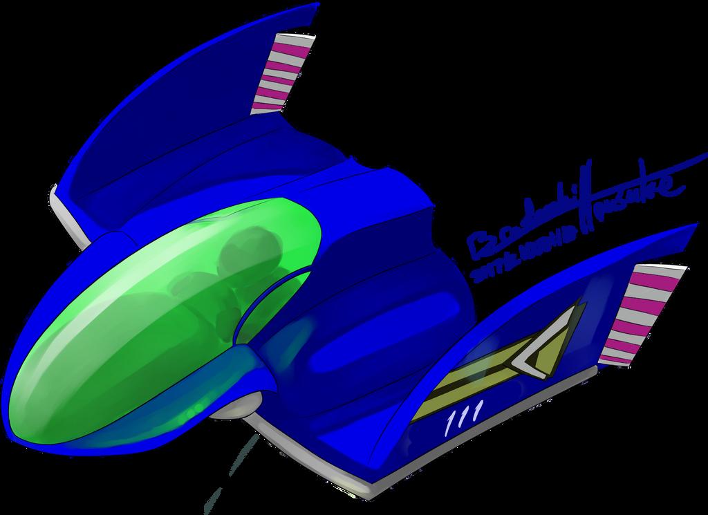 Blue Falcon by BrodorokiHousuke