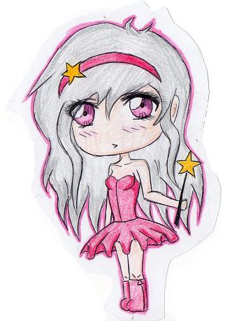 chibi anime girls fairy - photo #8