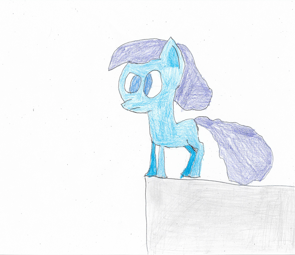 ATG Day 28 - Pony Living on the Edge. by ethanland45