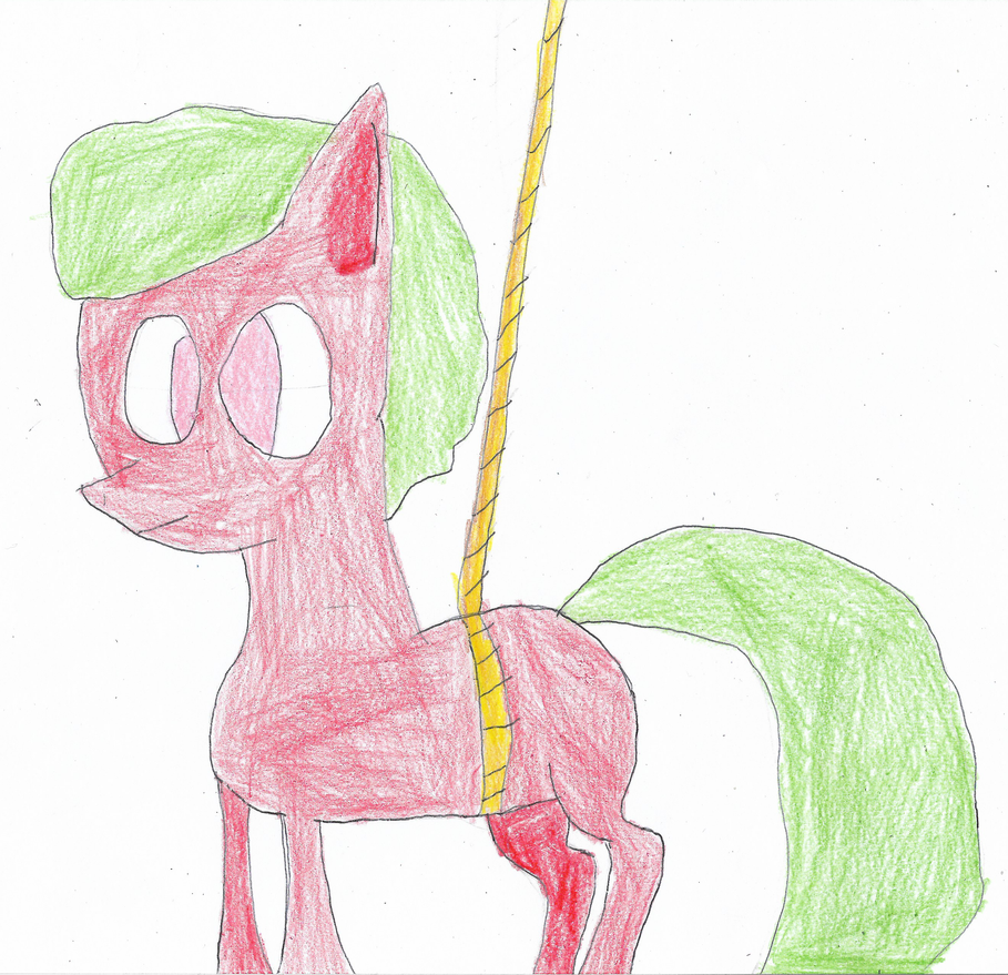ATD Day 29 - Pony on the End of Her Rope by ethanland45