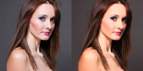 Before - After Retouch 23 by orkadesign