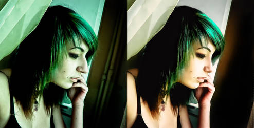 Before - After Retouch 4 by orkadesign