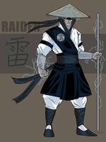 Raiden Redesign by darknight7