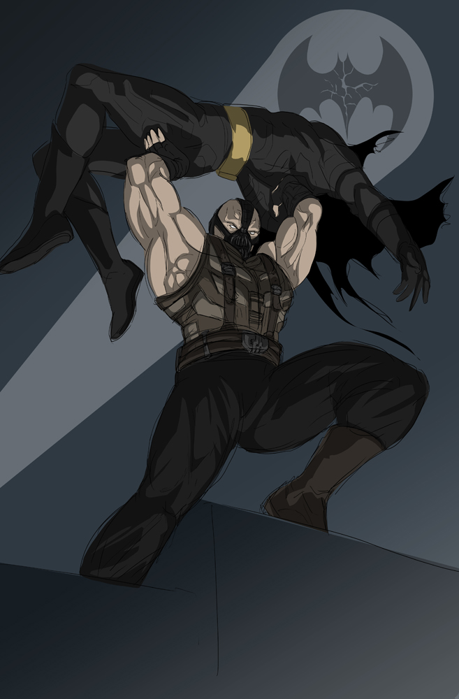 Bane broke The Batman by darknight7