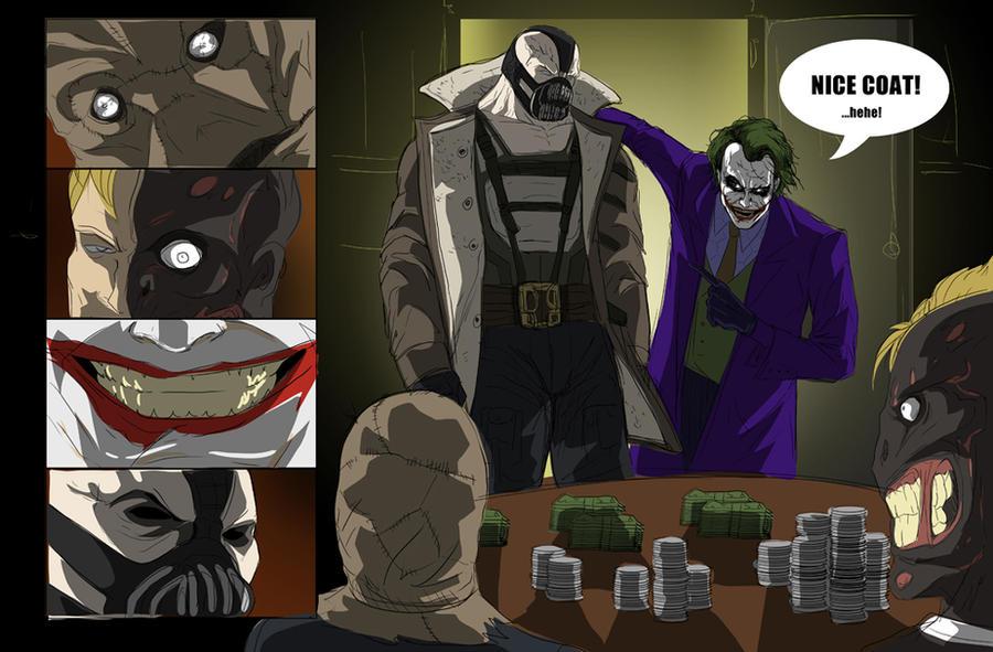 Gotham Rogues Poker Night by darknight7