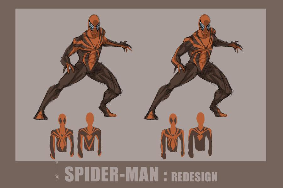 Spider-Man Concept Design By Darknight7 On DeviantArt
