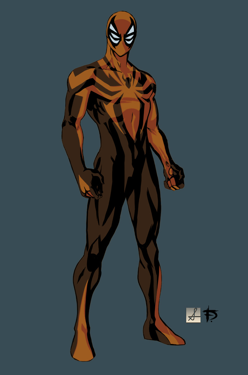 Spider-Man 7.0 Sean Izaakse Redesign by darknight7