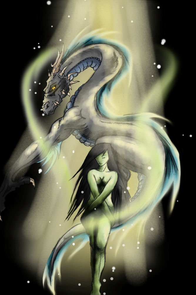 Shego and Dragon by ShadowOfSi by YogurthFrost