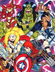 Next Avengers- Yogurth's style by YogurthFrost