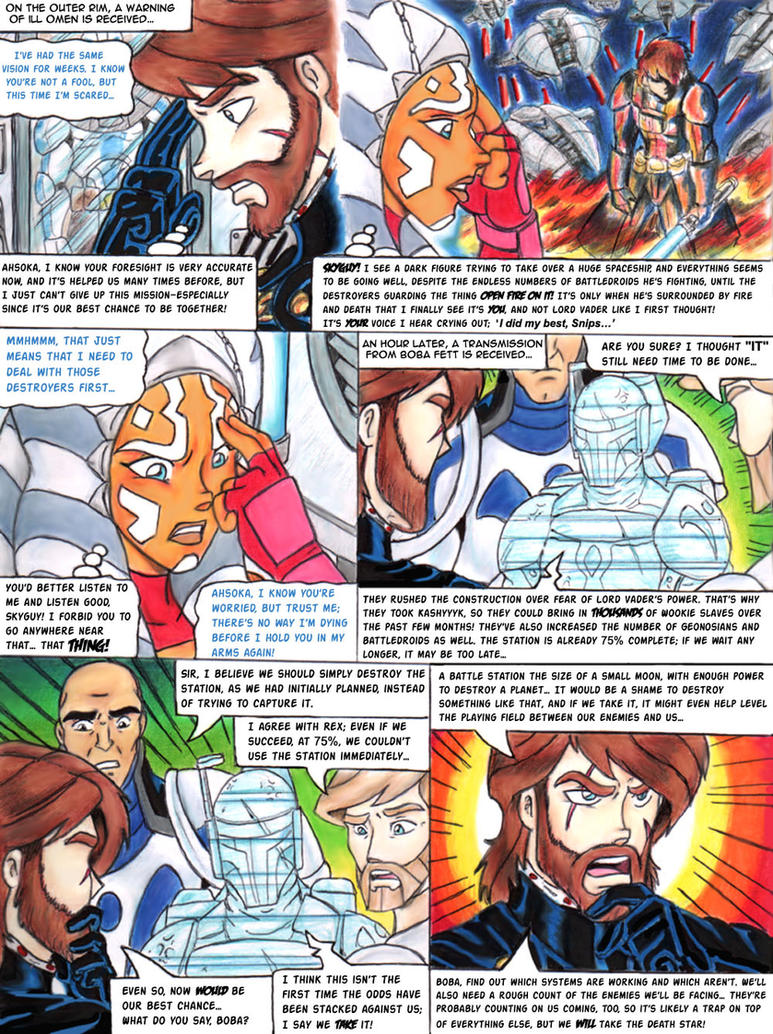 SW-CW Going Against Destiny 66 by YogurthFrost on DeviantArt