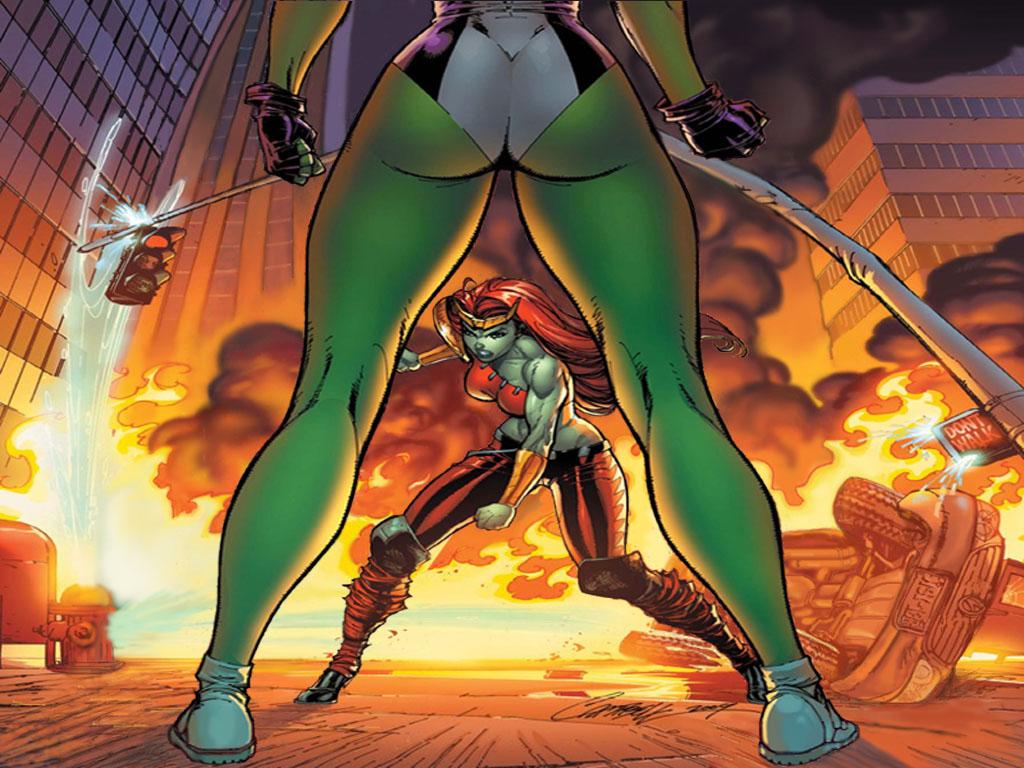 Marvel She Hulk Wallpaper 1024 768 Modified By Yogurthfrost On