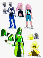 Doodles of Steven Universe by YogurthFrost