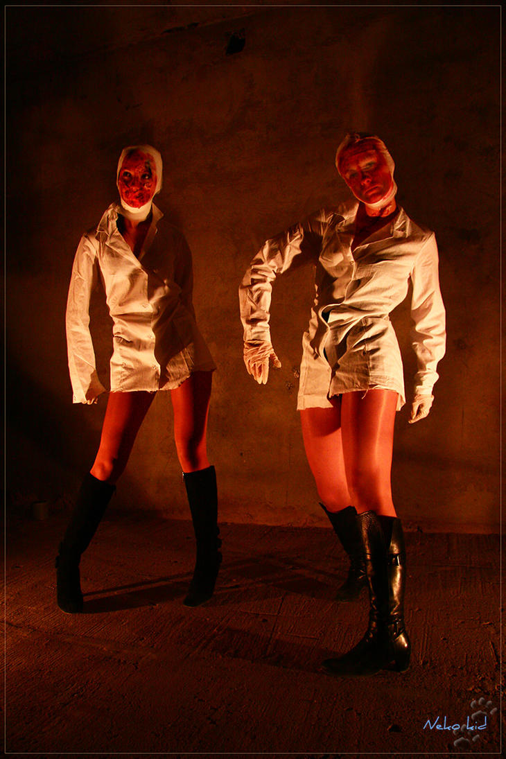 Silent Hill. Nurses 3 by Kittenboy