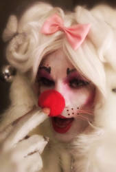 Would you like me more clownish?